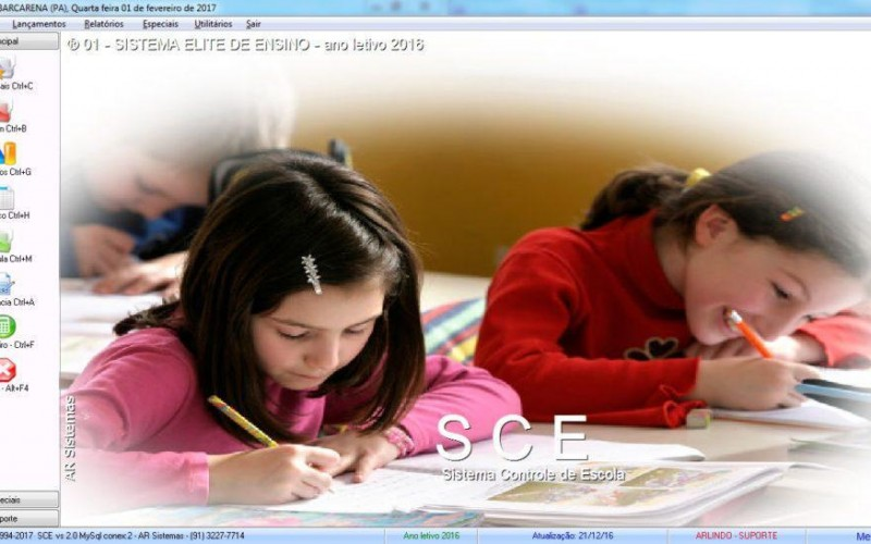 SGE - Sistema Gestão Escolar