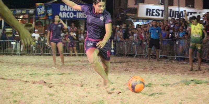 Público lota praia de Outeiro para a final dos jogos de Verão 2018