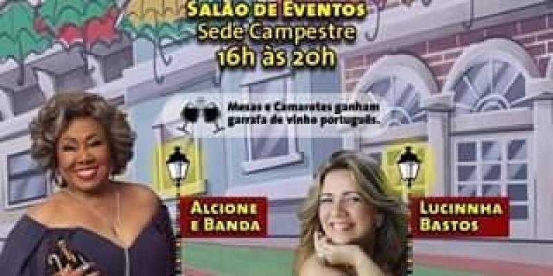 Em abril tem Alcione no Grêmio