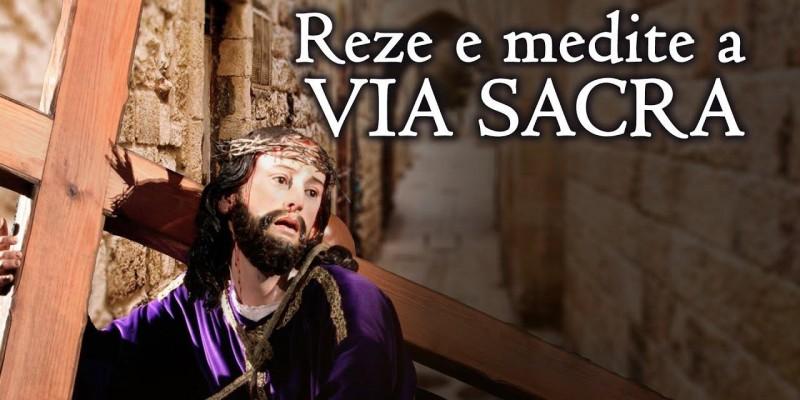 Na quarta, dia 13, começa a Via Sacra pelas ruas da Vila Sorriso