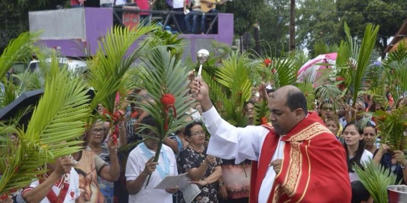 Benção dos Ramos abre a Semana Santa em Icoaraci