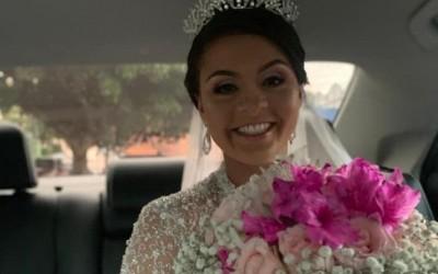 Máylla Roberta foi a noiva da semana
