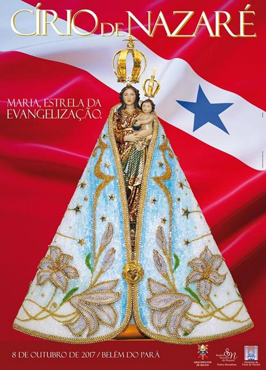 Arquidiocese lança cartaz do Círio 2017