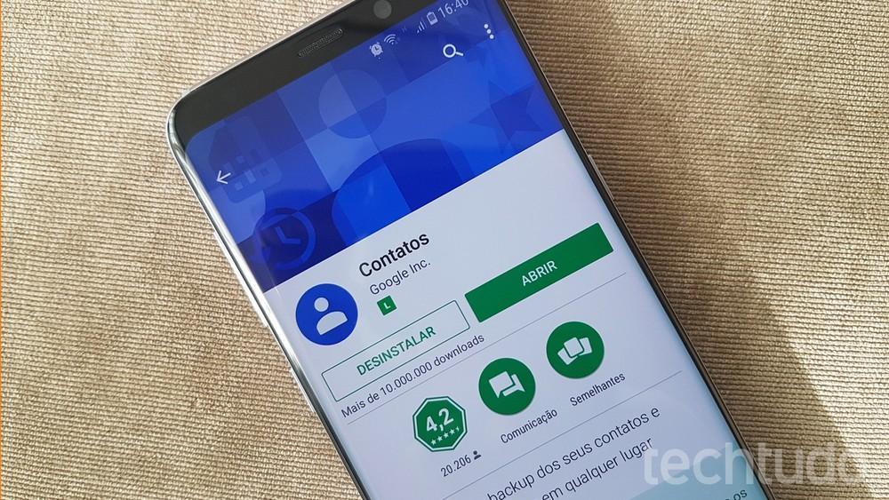Google Contatos para Android tem nova interface com sugestões de pessoas
