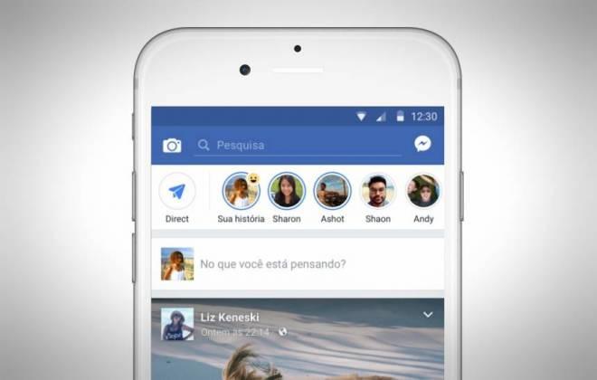 Stories do Instagram agora podem ser enviados para o Facebook