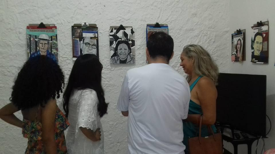 Faeli Moraes abre exposição Na  Casa do Artista