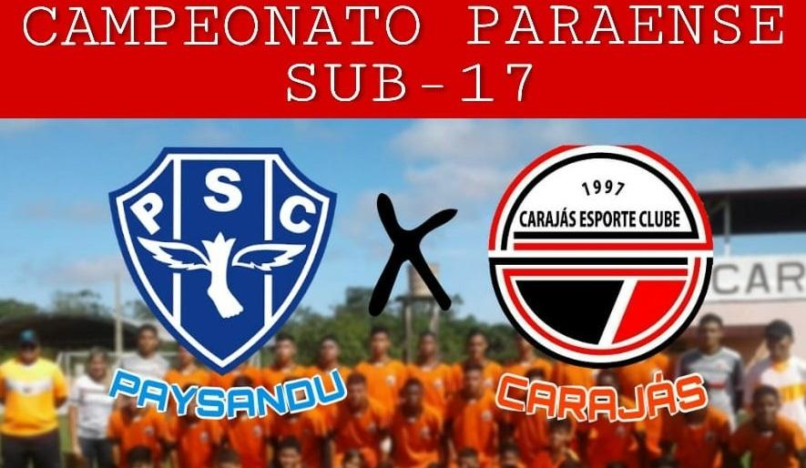 Carajás invicto no Campeonato Sub-17