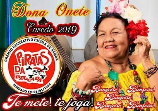Dona Onete será enredo de escola de samba