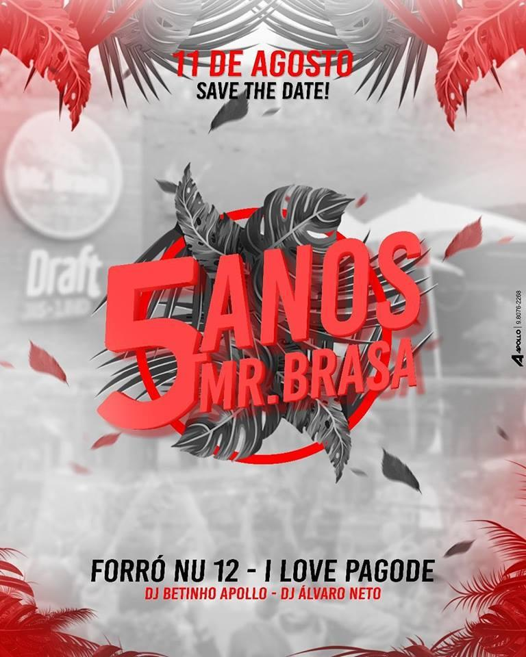 5 anos do Mr. Brasa