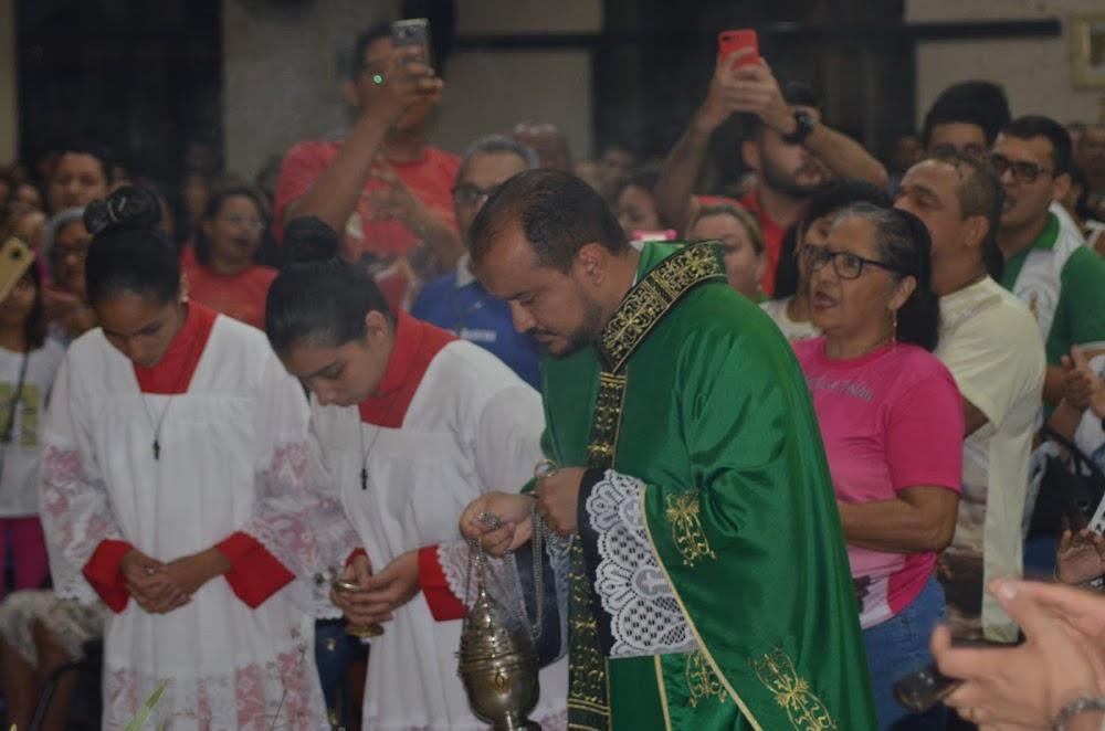 Visita da Imagem peregrina de Nossa Senhora de Fátima de Portugal em nossa Paróquia