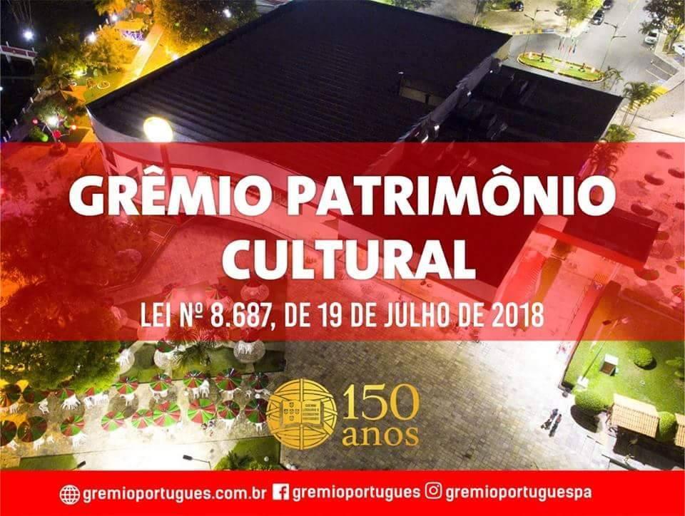 Grêmio vira Patrimônio Cultural e Imaterial do Pará