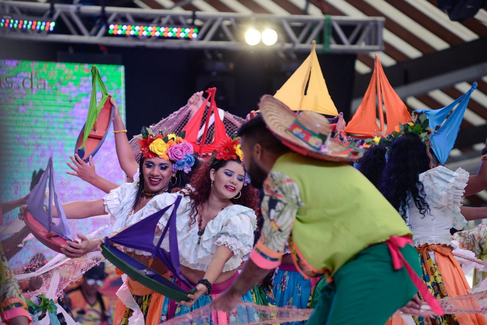 Trilhas da Amazônia brilha no Festival  Internacional do Folclore
