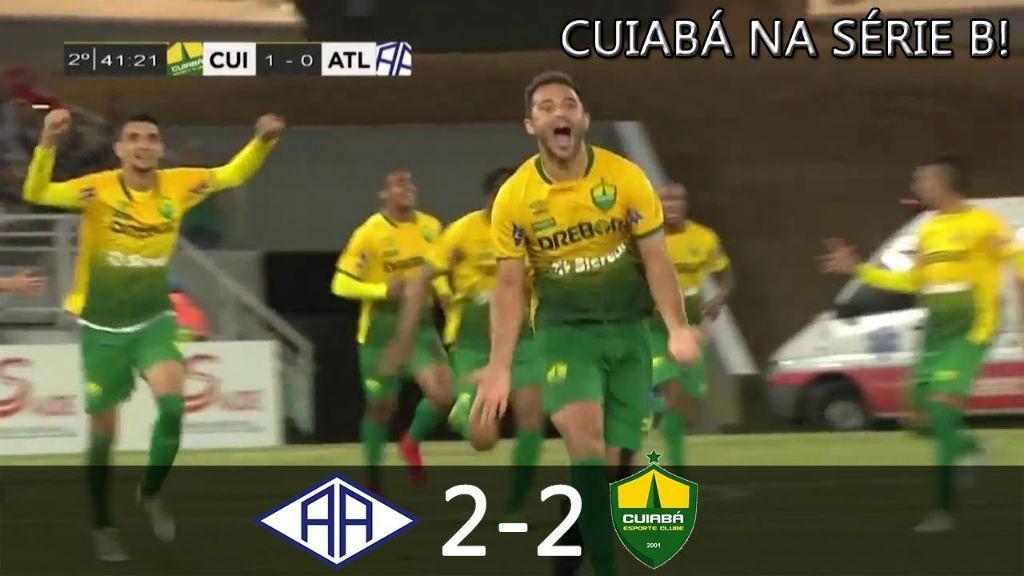 Melhores Momentos de Atlético-AC 2 x 2 Cuiabá - Brasileirão Série C