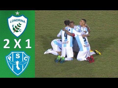 Melhores Momentos de Londrina 2 x 1 Paysandu - Brasileirão Série B