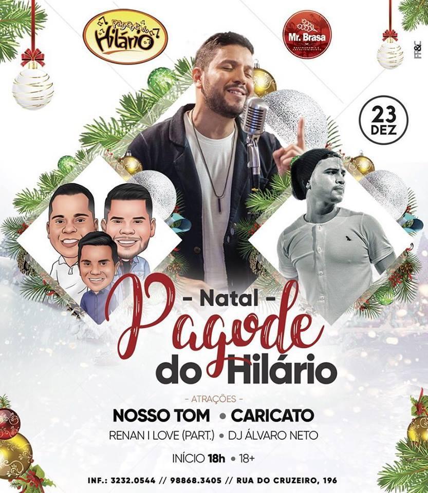 Pagode do Hilário agita a Vila Sorriso