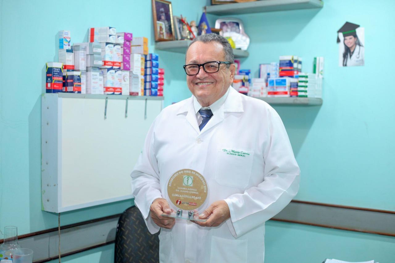 Dr. Mário Corrêa - Clínica Médica do Ano de Icoaraci