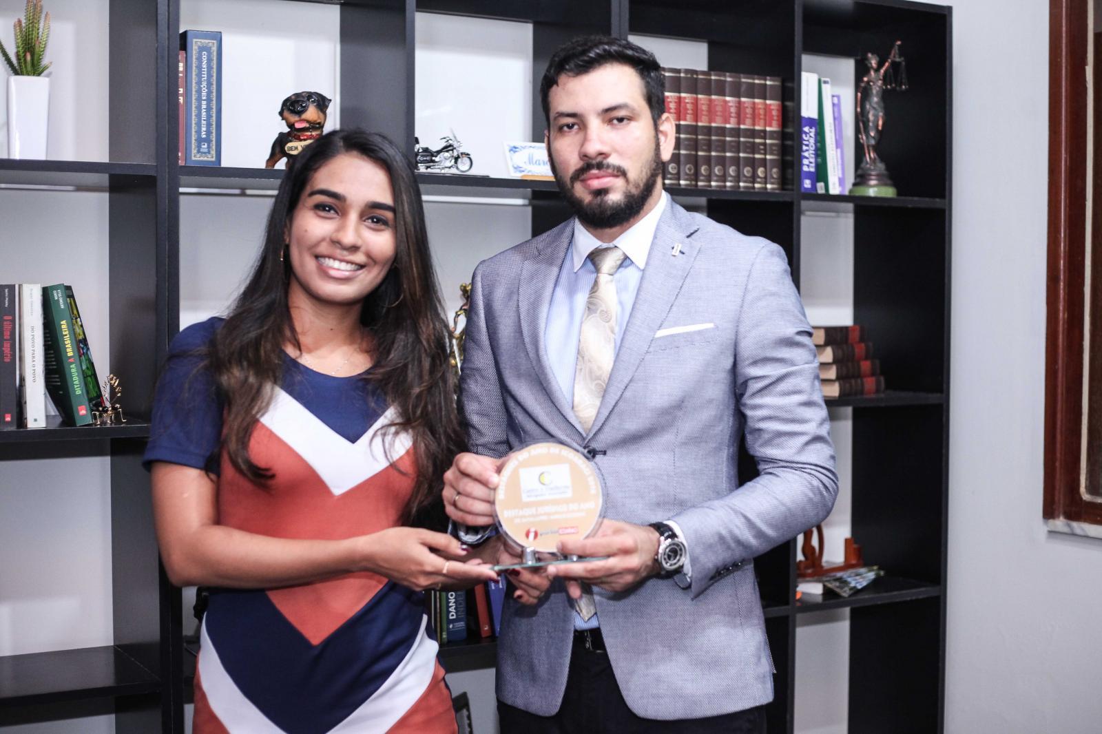 Drs. Marcelo e Rayssa e Marcelo Castro Guilherme - Jurídicos do Ano de Icoaraci