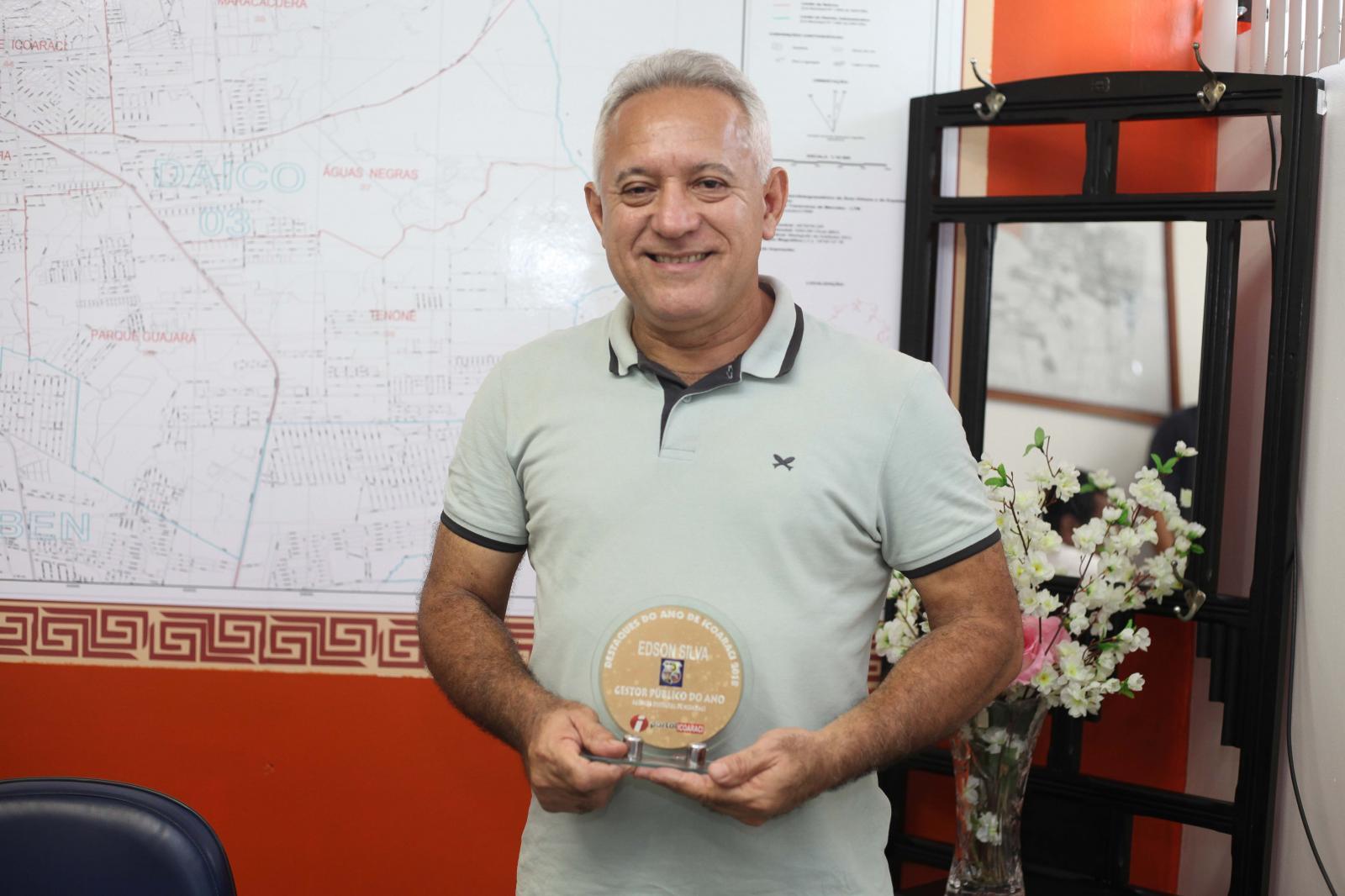 Edson Silva - Gestão Pública do ano de Icoaraci
