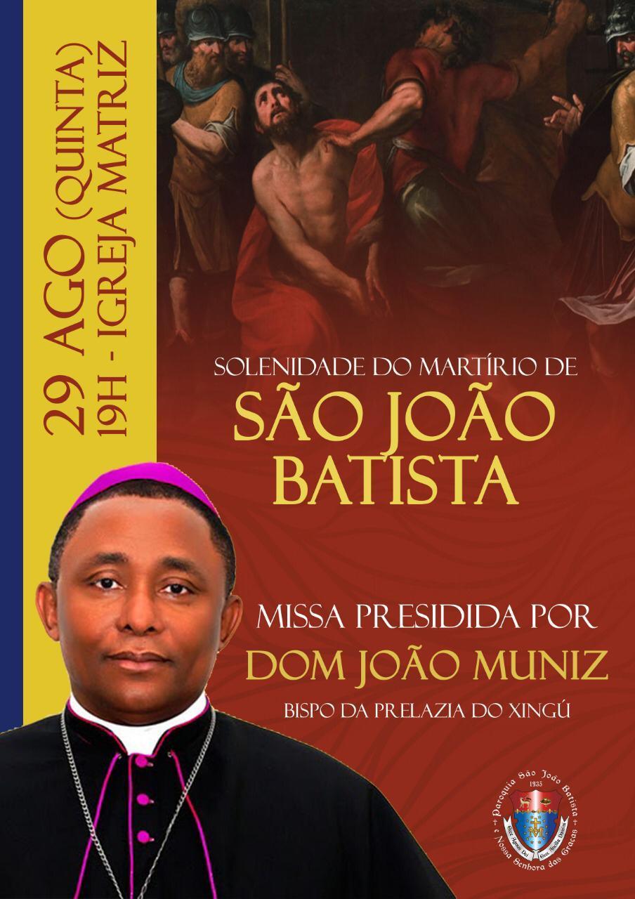 Solenidade do martírio de São João Batista