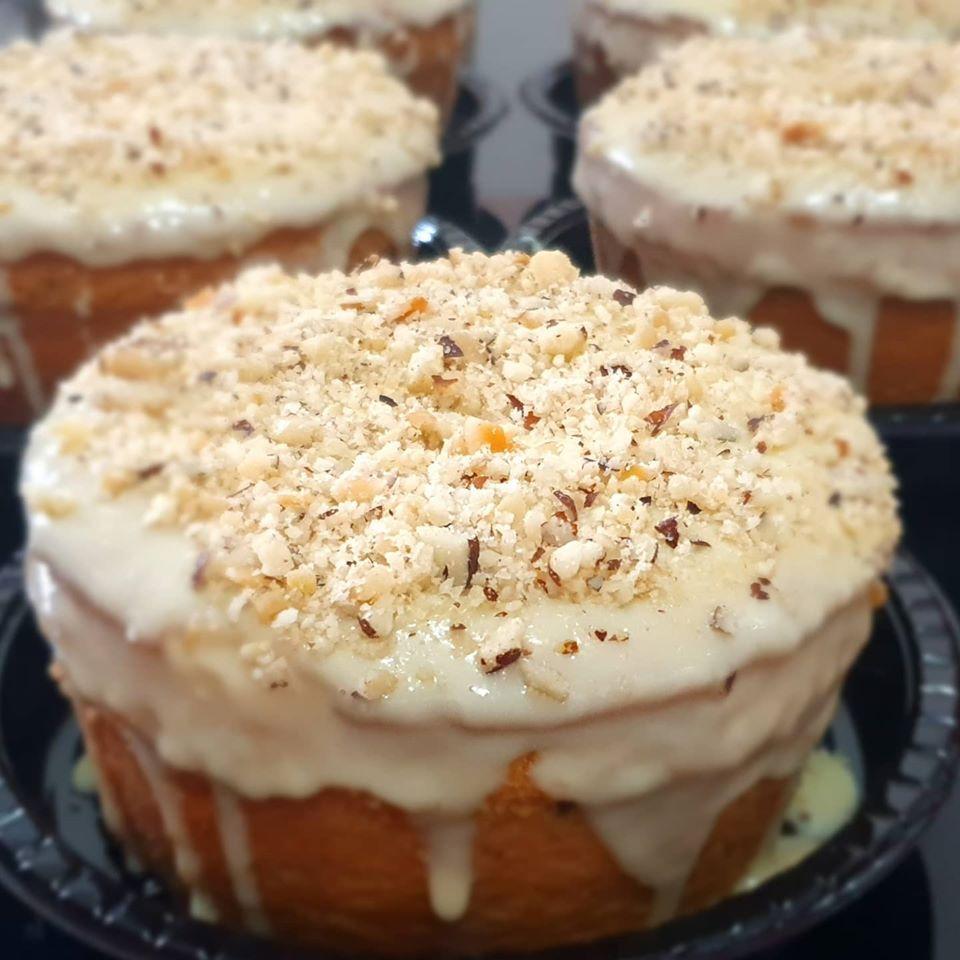 Que tal um bolo de Castanha do Pará neste dia de São João?