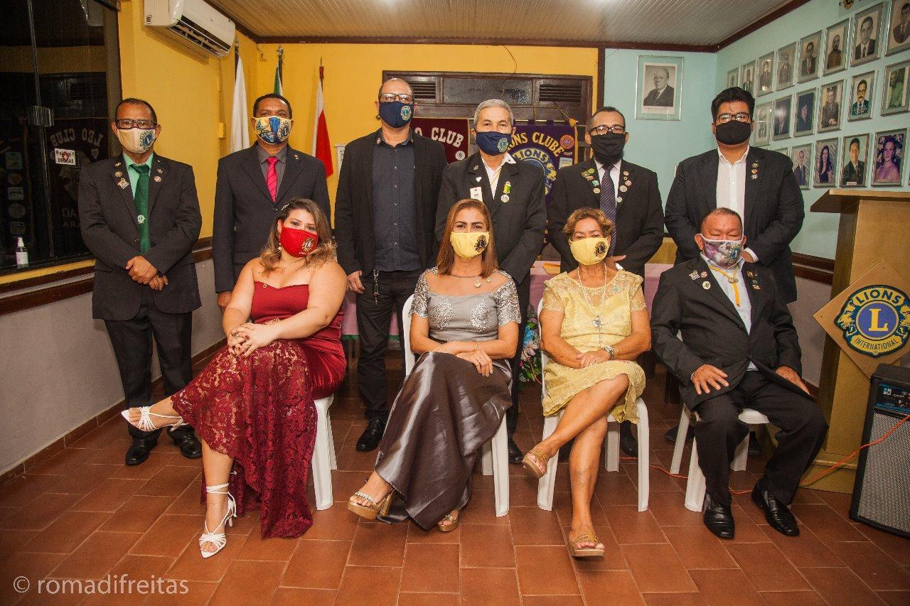 Rosilene Alves assume a presidência do Lions Clube Icoaraci
