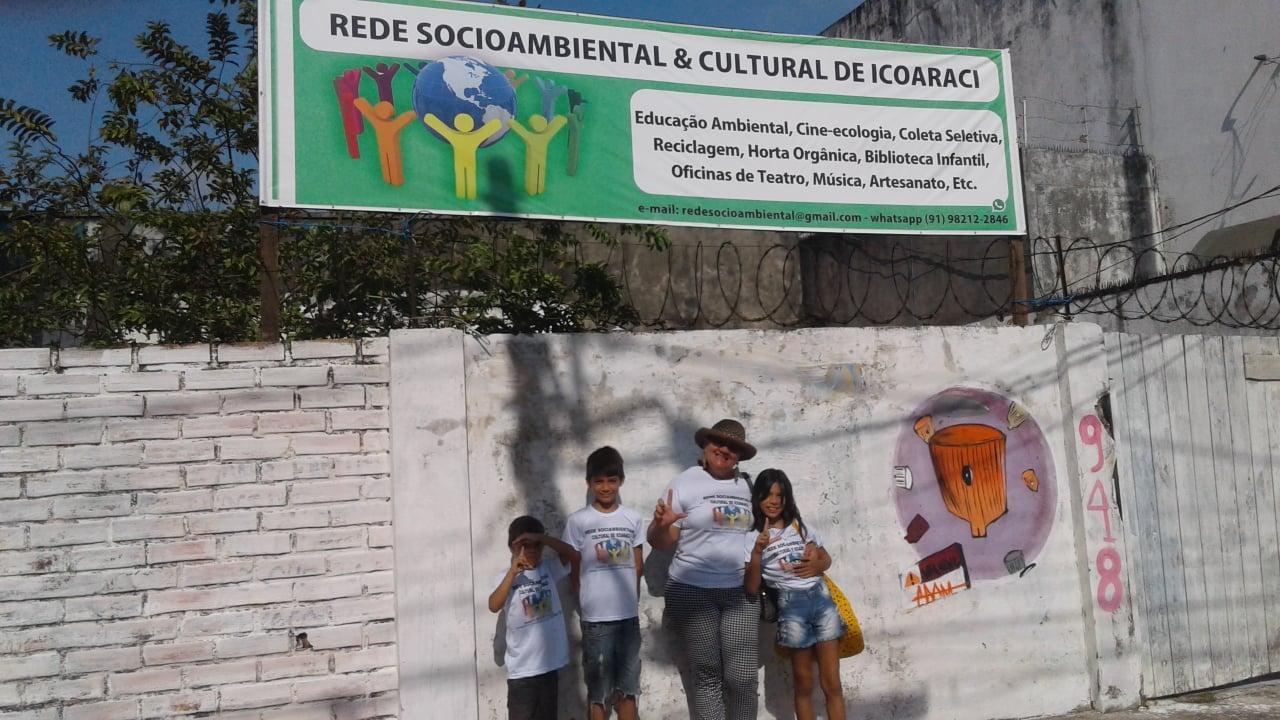 Ajuda para a Rede Socioambiental e Cultural de Icoaraci