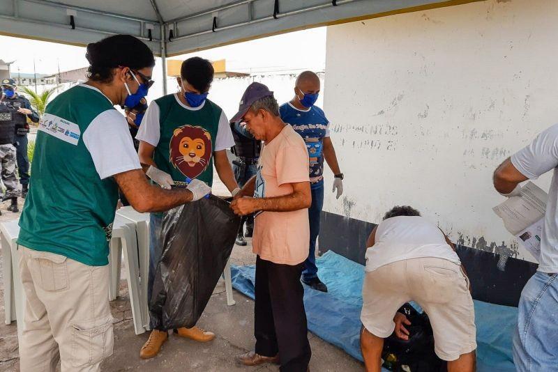 Moradores em situação de rua acolhidos na pandemia serão remanejados do Mangueirão, em Belém