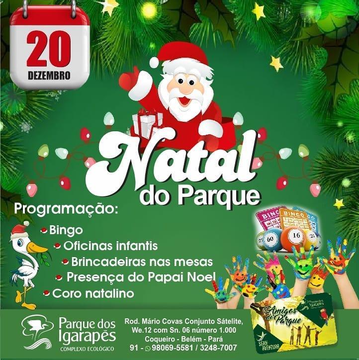 Natal no Parque dos Igarapés