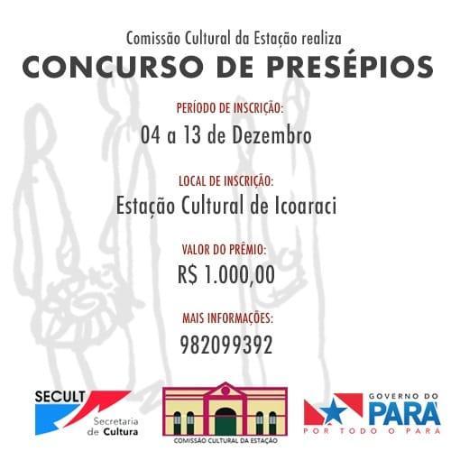 Concurso de Presépios na Estação Cultural