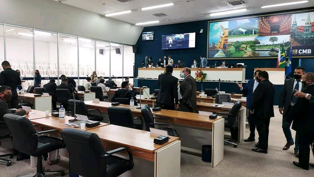 Câmara de Vereadores de Belém fecha até fevereiro