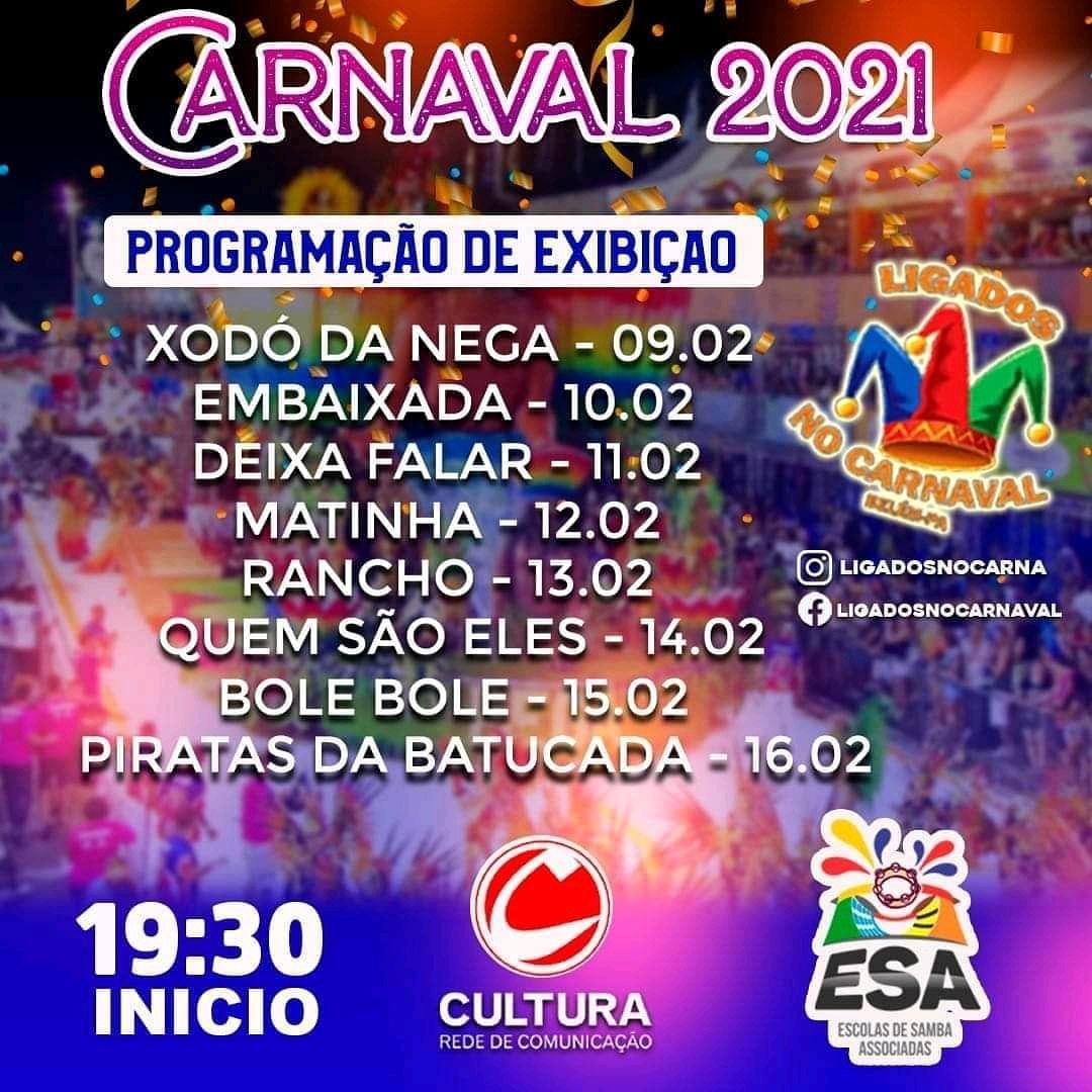 Se liga na programação de Carnaval do portal Cultura!