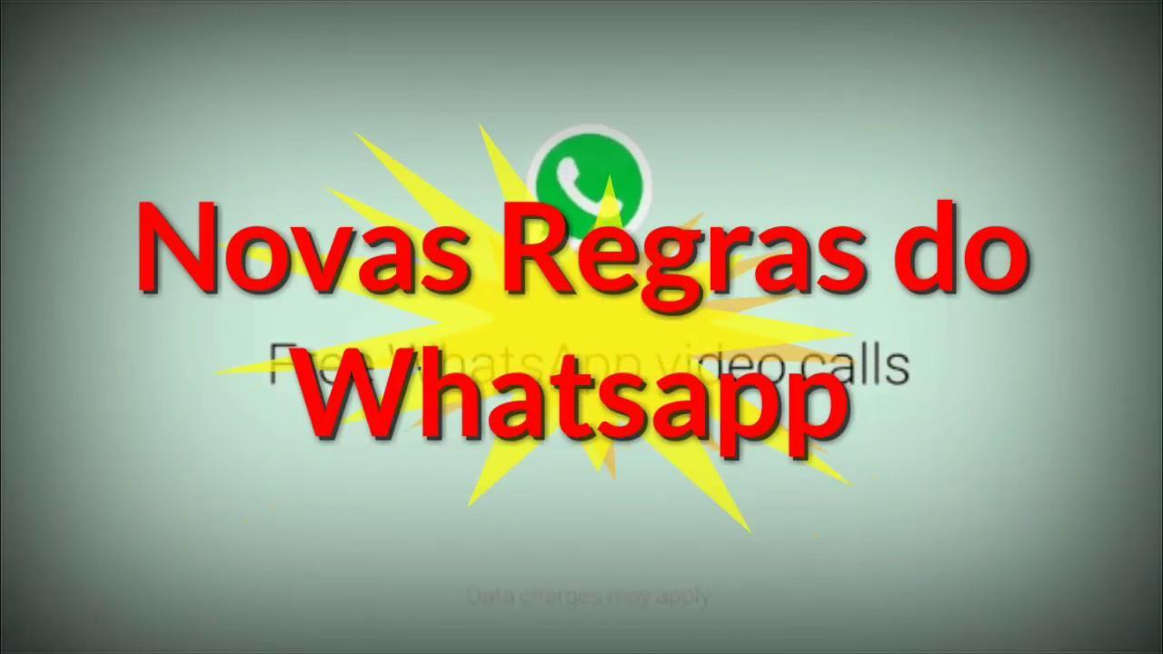 Nova regra do WhatsApp