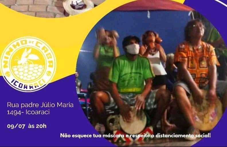 Sexta-feira de verão tem muito Carimbó em Icoaraci