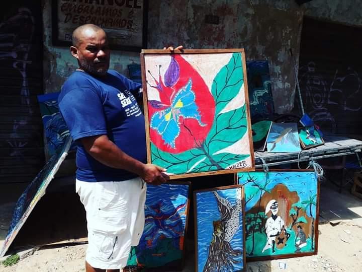 Artista icoaraciense transforma lixo reciclável em arte
