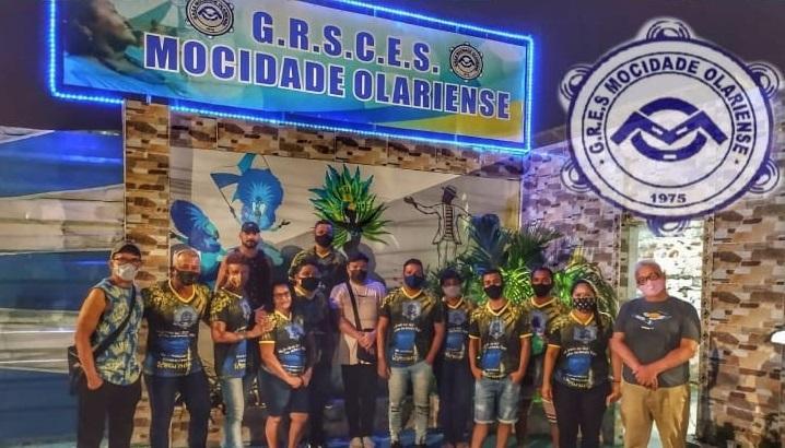 Mocidade Olariense lança Enredo com show da banda Fruta Quente