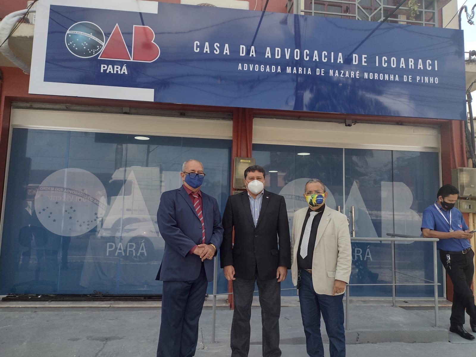 OAB/PARÁ inaugurou a Casa do Advogado de Icoaraci